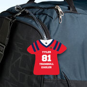 Football Jersey Bag/Luggage Tag - Personalized Jersey