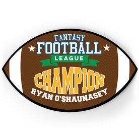 Football Plaque - Fantasy Champion