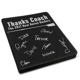 Crew Executive Portfolio - Thanks Coach with Signatures