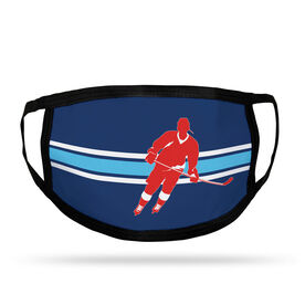 Hockey Adult Face Mask - Player Stripe
