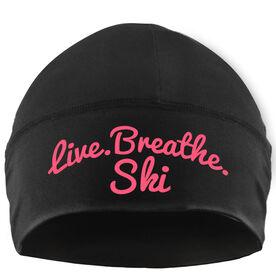 Skiing Beanie Performance Hat - Live Breathe Ski