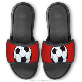 Soccer Repwell® Sandal Straps - Soccer Ball