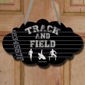 Track and Field Cloud Sign Track and Field Silos