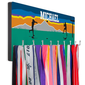 Football Hooked on Medals Hanger - Field Of Play