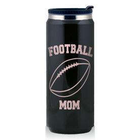 Stainless Steel Travel Mug Football Mom