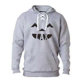 Lacrosse Sport Lace Sweatshirt - Pumpkin Lax