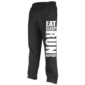 Running Fleece Sweatpants Eat Sleep Run