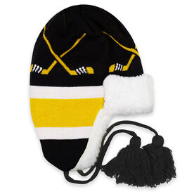 Hockey Sherpa Trapper Hat - Boston