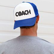 Wrestling Trucker Hat - Coach