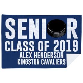 Hockey Premium Blanket - Personalized Hockey Senior Class Of