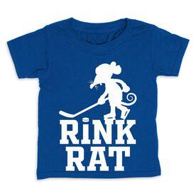 Hockey Toddler Short Sleeve Tee - Rink Rat
