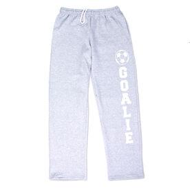 Soccer Fleece Sweatpants - Goalie