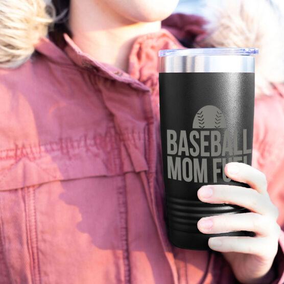 Baseball 20oz. Double Insulated Tumbler - Baseball Mom Fuel