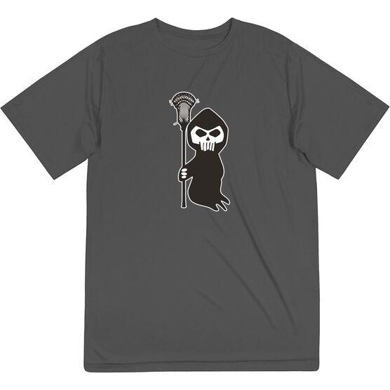 Guys Lacrosse Short Sleeve Performance Tee - Guys Lacrosse Reaper