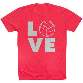 Volleyball Short Sleeve T-Shirt - Volleyball Love