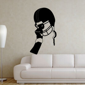 Football Victory Helmet Removable ChalkTalkGraphix Wall Decal