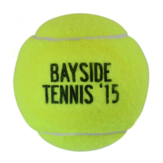 Personalized Team Name and Year Tennis Ball