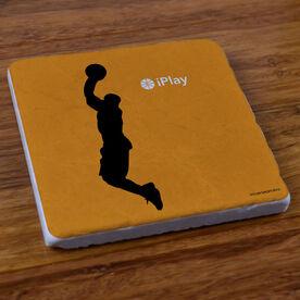 iPlay Basketball - Stone Coaster