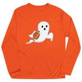 Football Long Sleeve Performance Tee - Ghost