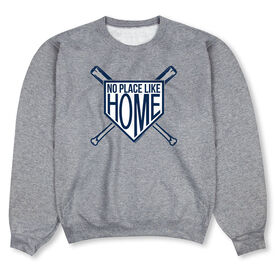 Baseball Crew Neck Sweatshirt - No Place Like Home