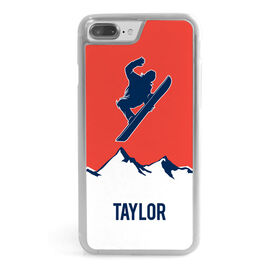 Snowboarding iPhone® Case - Personalized Airborne
