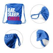Cheerleading Sport Pack Cinch Sack Eat. Sleep. Cheer.