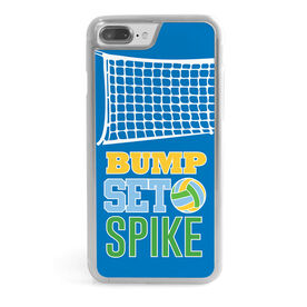Volleyball iPhone® Case - Bump Set Spike with Net