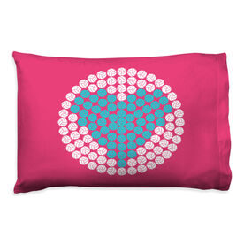 Volleyball Pillowcase - Love
