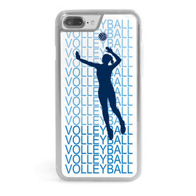 Volleyball iPhone® Case - Fade