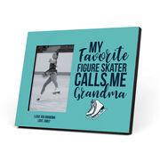 Figure Skating Photo Frame - Grandma's Favorite Figure Skater