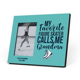 Figure Skating Photo Frame - Grandma's Favorite Figure Skater
