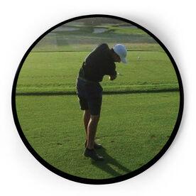 Golf Circle Plaque - Custom Photo