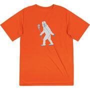 Guys Lacrosse Short Sleeve Performance Tee - Yeti