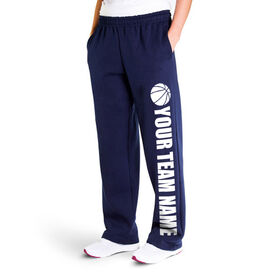 Basketball Fleece Sweatpants - Team Name