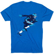 Football Tshirt Short Sleeve In the Blur of A Moment