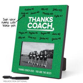 Field Hockey Photo Frame - Coach (Autograph)