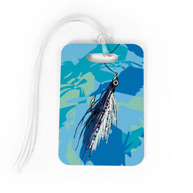 Fly Fishing Bag/Luggage Tag - Watercolor Clouser