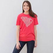 Running Short Sleeve T-Shirt - South Carolina State Runner