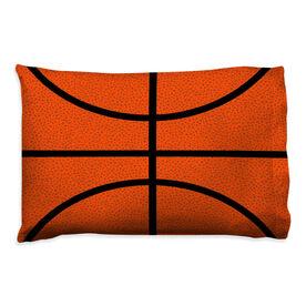 Basketball Pillowcase - Texture