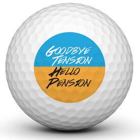 Retirement Ball Golf Ball