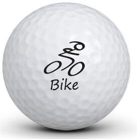 Bike Figure Golf Balls