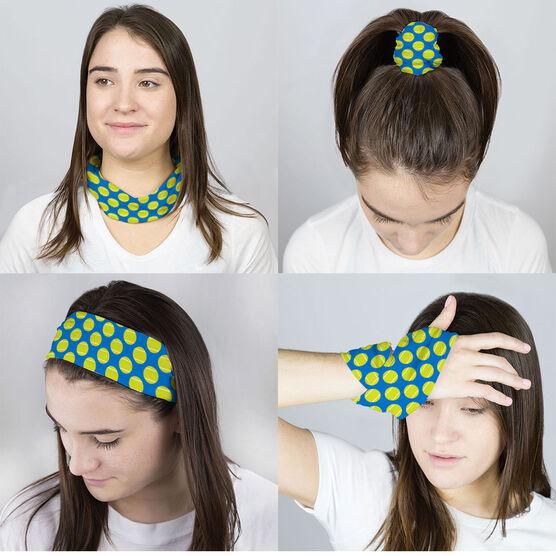 Tennis Multifunctional Headwear - Tennis Pattern RokBAND