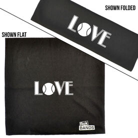 RokBAND Multi-Functional Headband - Love Tennis