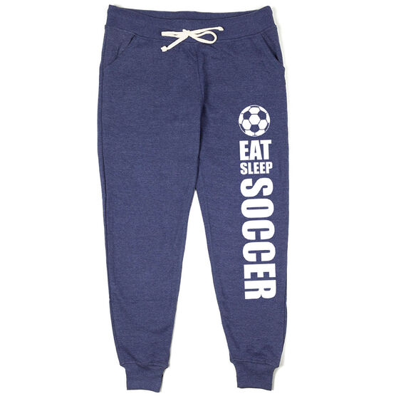 Soccer Women's Joggers - Eat Sleep Soccer