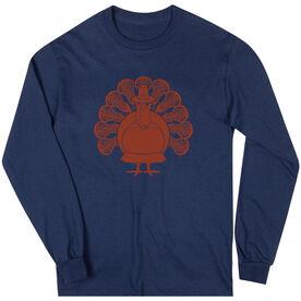 Girls Lacrosse Long Sleeve T-Shirt - Turkey Player