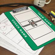 ChalkTalk Volleyball Custom Coaches Dry Erase Clipboard