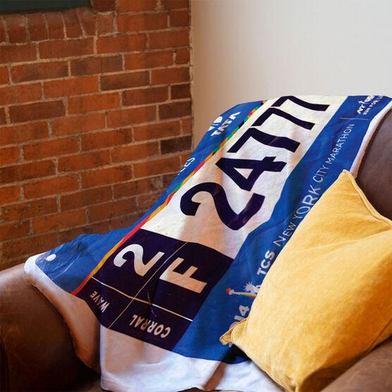 Running Premium Blanket - Your Race Bibs