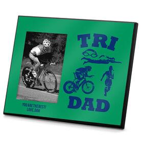 Triathlon Photo Frame Tri Dad