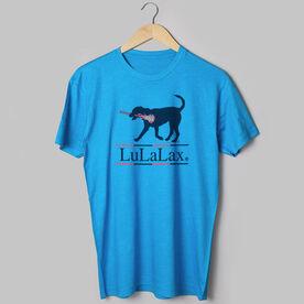 Girls Lacrosse T-Shirt Short Sleeve LuLaLax Logo