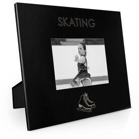 Figure Skating Engraved Picture Frame - Simple Skating